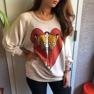 Cooperative M sweater